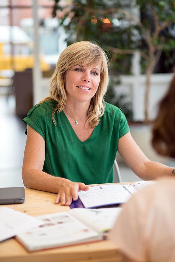 Huiswerkbegeleider Simone Bakker
