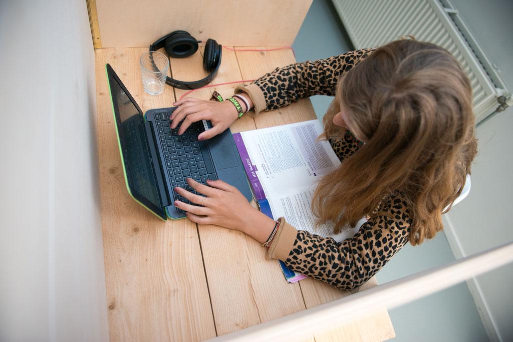 Huiswerk onder professionele begeleiding